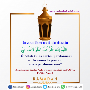 Invocation de la nuit du destin