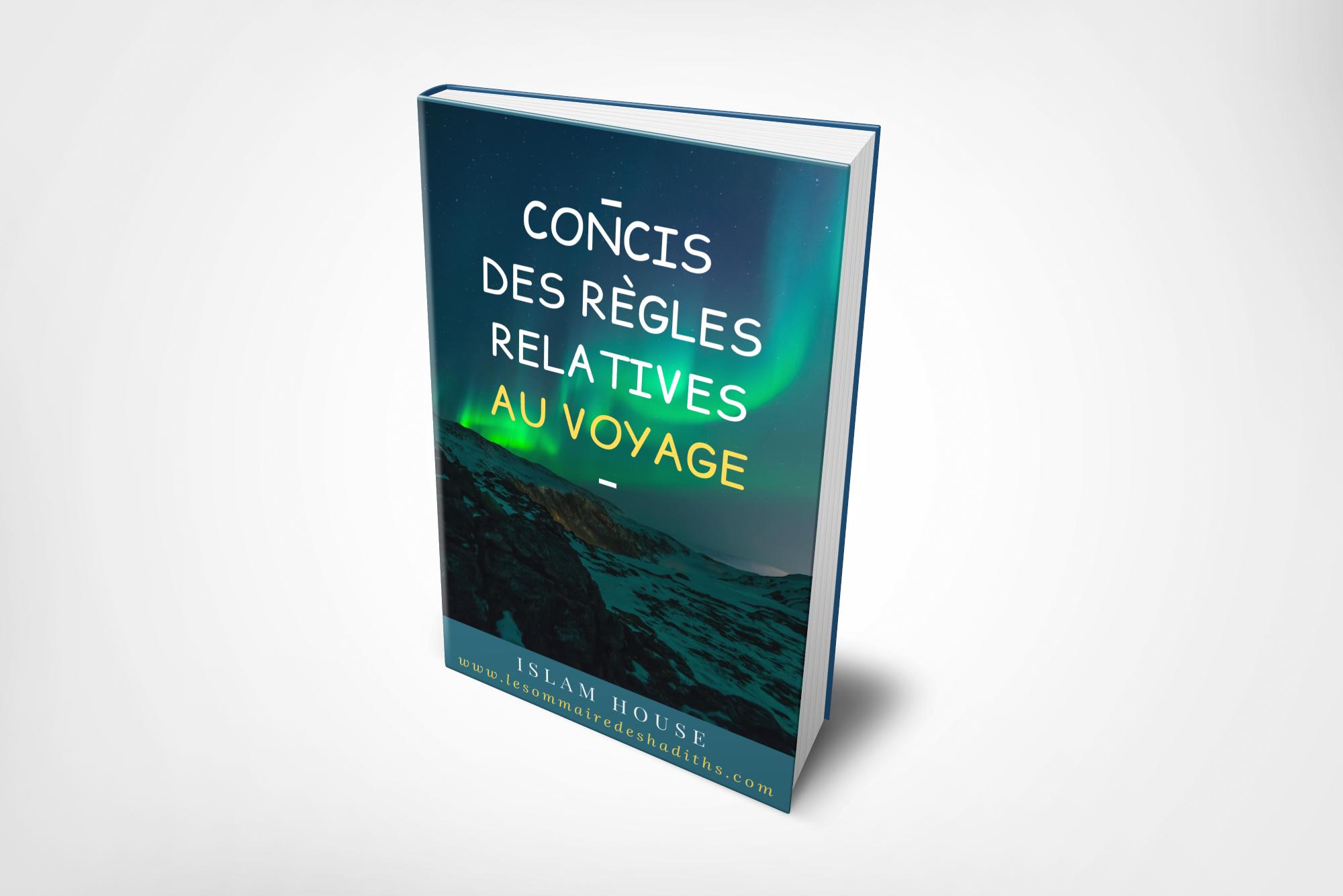 Livre Concis des regles relative au voyage - cover