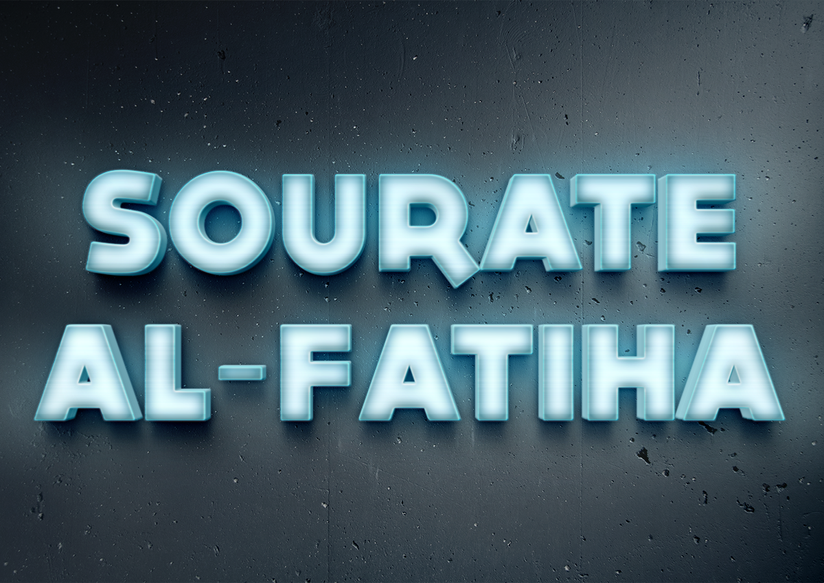 Sourate Al-Fatiha